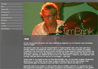 website timbrink.nl